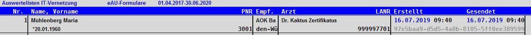 abasoft Arztsoftware Praxissoftware Arztpraxis EVA TI Telemetikinfrastruktur eAU elektronische Arbeitsunfähigkeitsbescheinigung Abrechnung Quartalsabrechnung