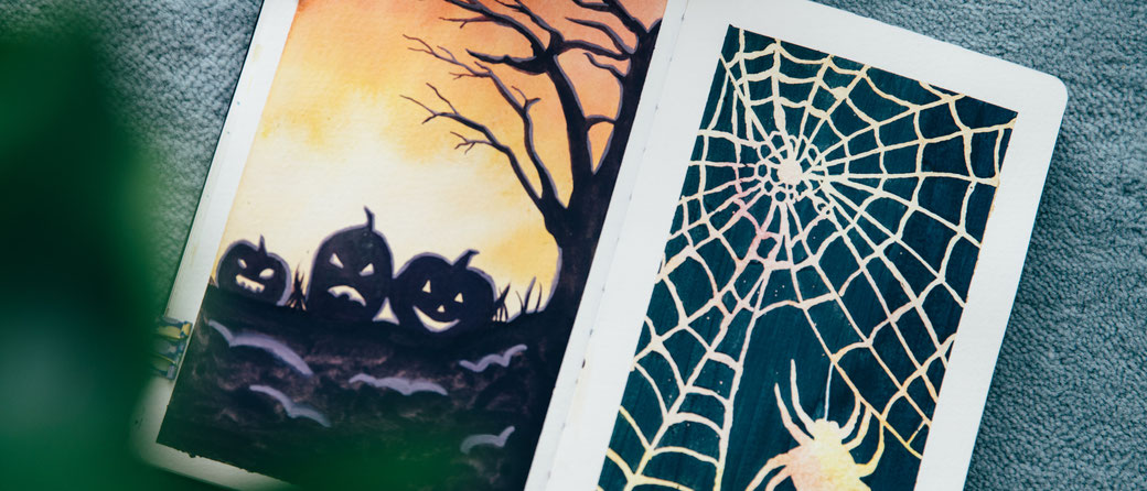 Halloween Drawing Ideas Visual Mind