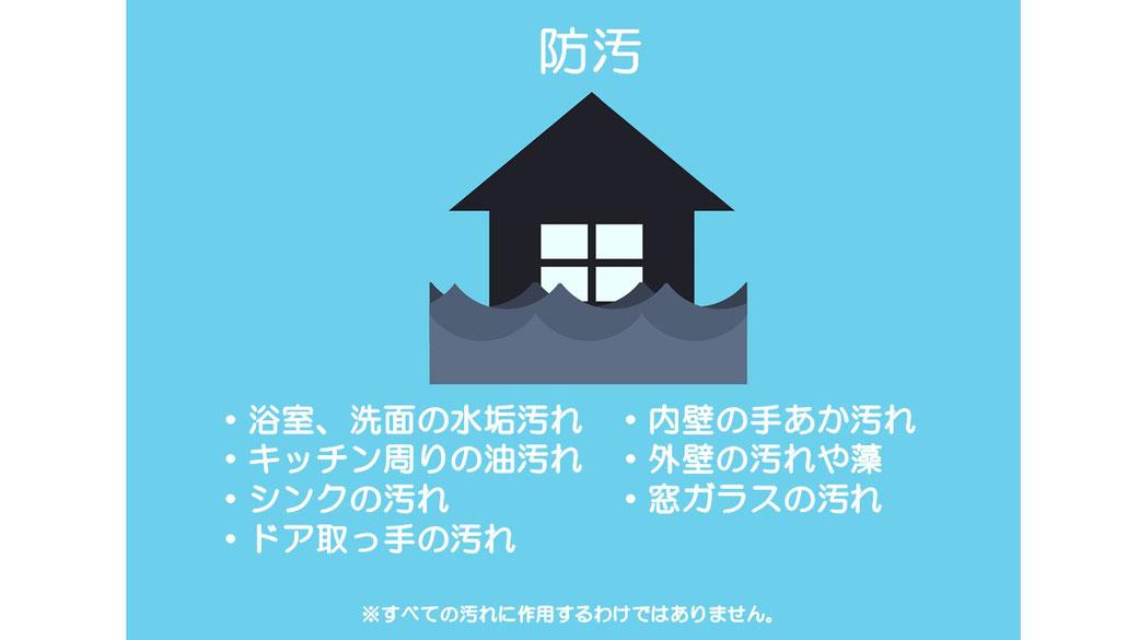 光触媒コーティング イオニアミストPRO 防汚 水垢 油汚れ 大阪の認定施工店 石井装飾
