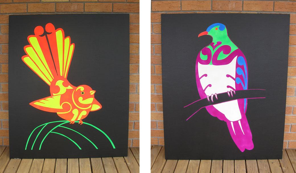 bird murals
