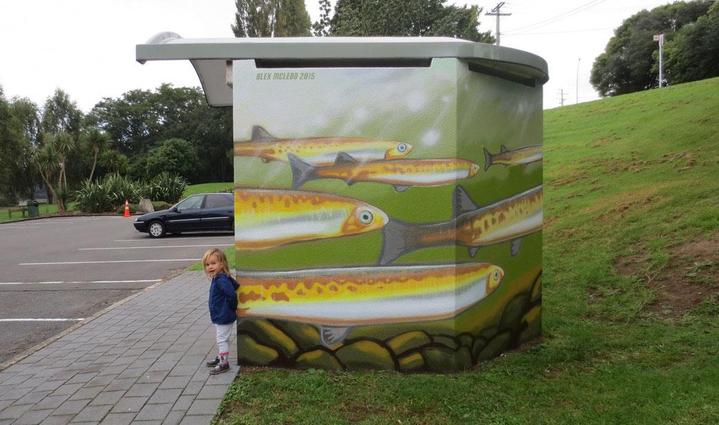 River Mural