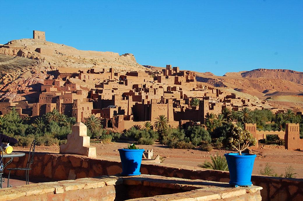 Unesco Weltkulturerbe - Kasbah Ait Benhaddou in Marokko