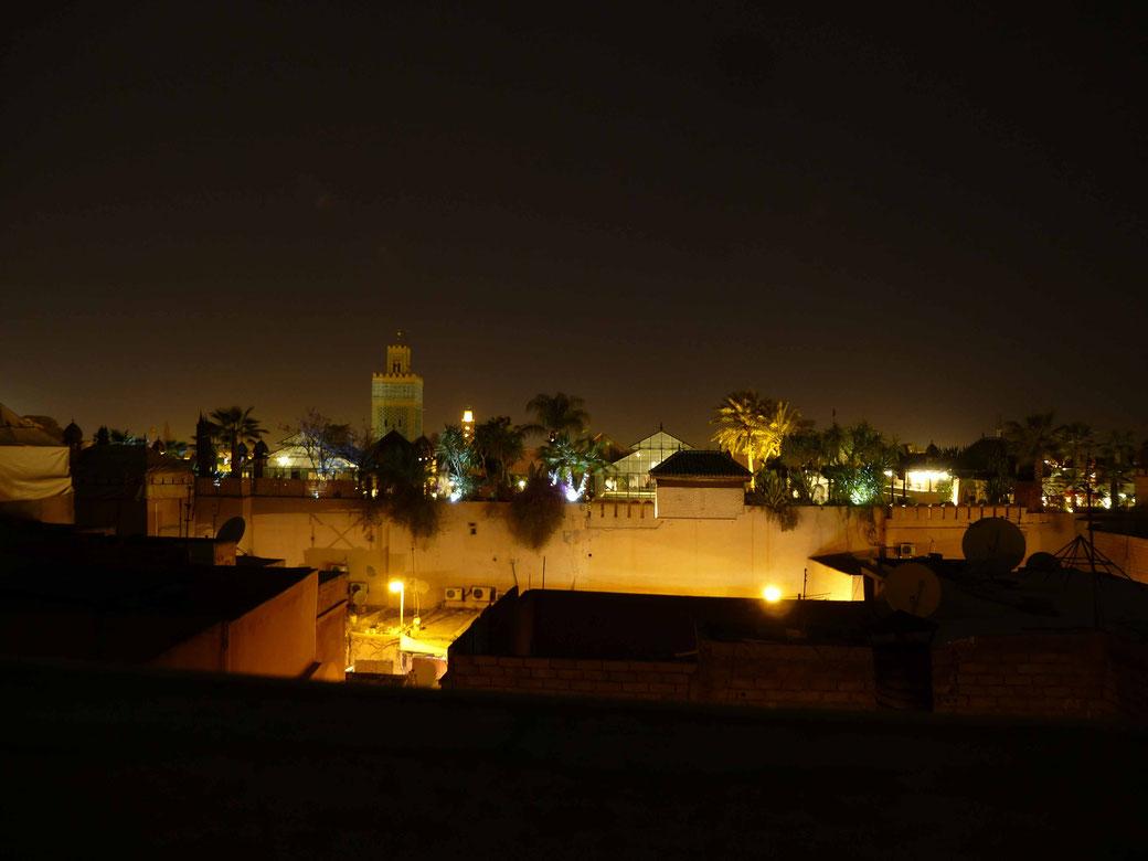 In der Medina von Marokko
