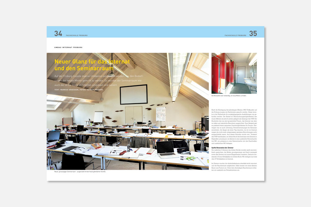 Grafikdesign Magazin Design
