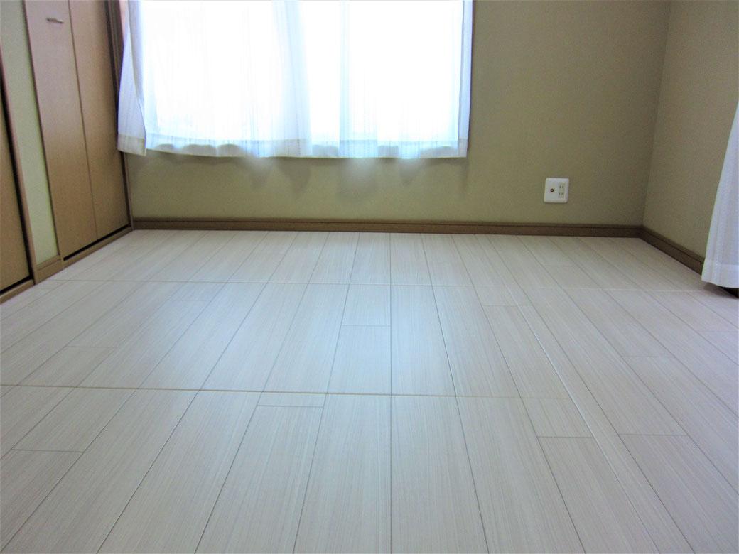 この部屋の床は、畳です!『リフォーム畳®』です。