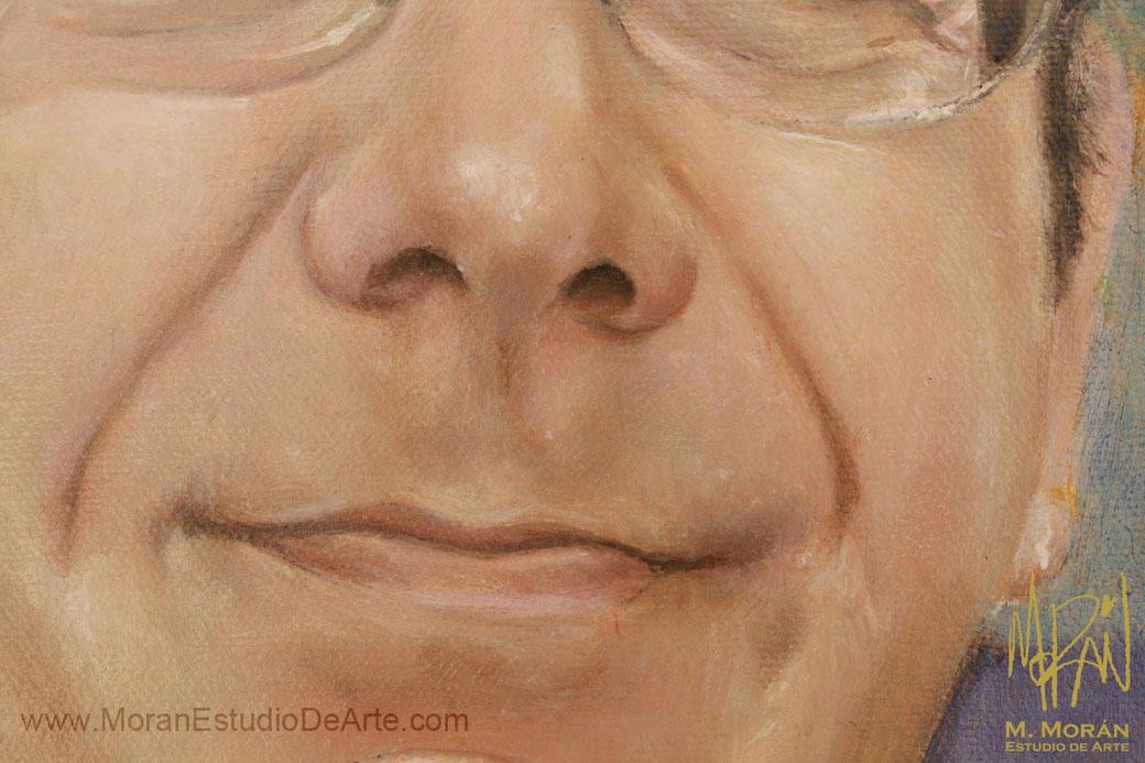 Retrato al Oleo sobre tela