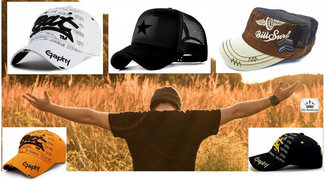 casquette homme tendance urbaine et snapback