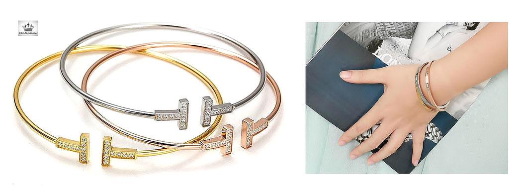 Bracelet et Jonc Bijoux Fantaisie pas cher pour le poignet féminin