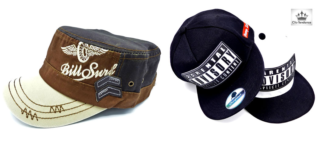 Casquette homme tendance look urbain - Snapback US style