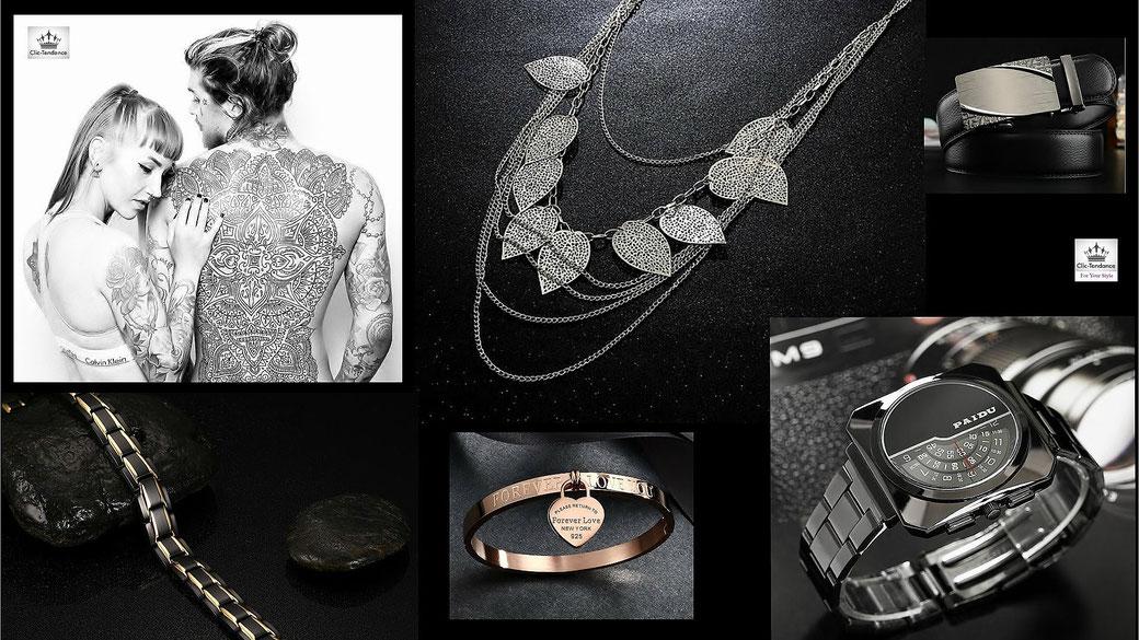 Avis et Test de Blogueurs sur les bijoux et Montre Clic-Tendance.fr