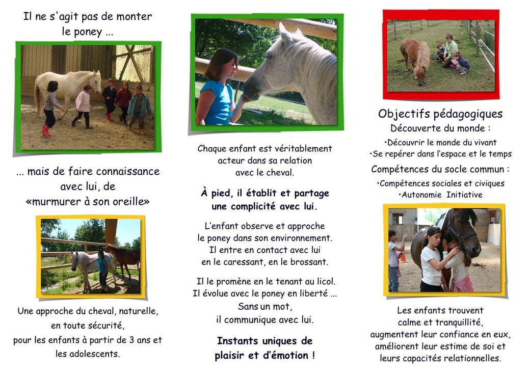 Plaquette des ateliers pédagogiques pour les écoles et les accueils de loisirs verso