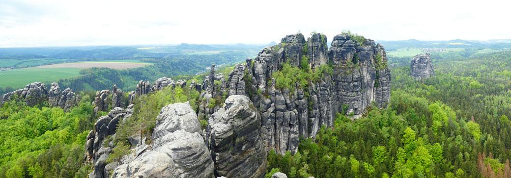 Wandern in der Sächsischen Schweiz - Routen und Tipps