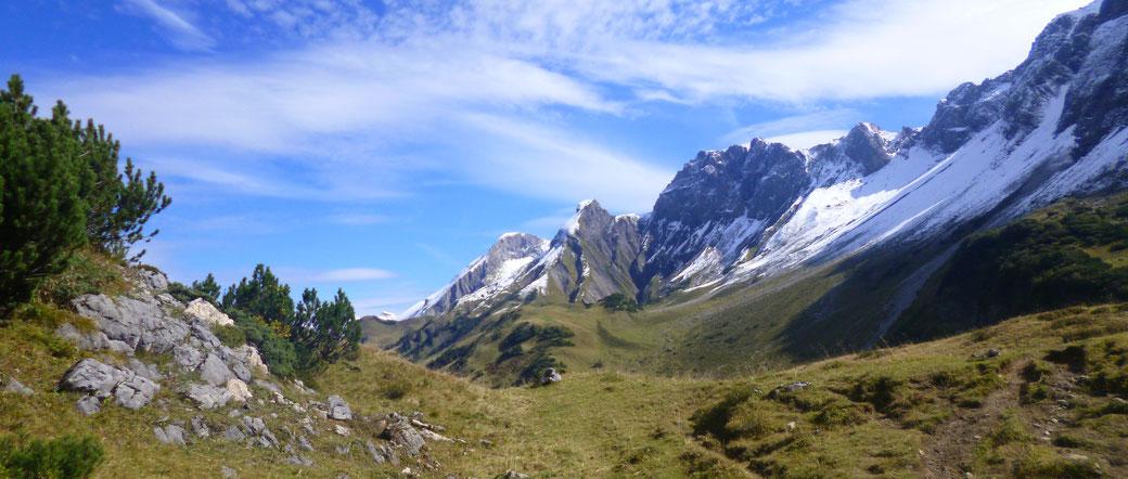 Hüttenwanderung Oberstdorf Route und Tipps