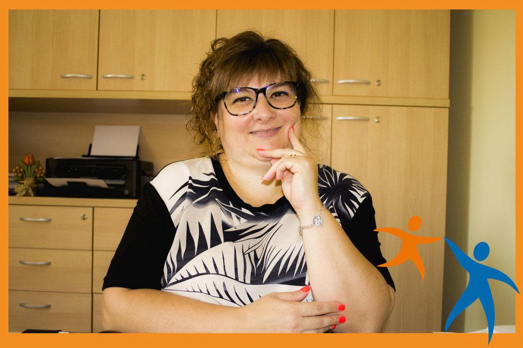 Cinzia Alù, Presidente di CresciAmo Società Cooperativa ONLUS