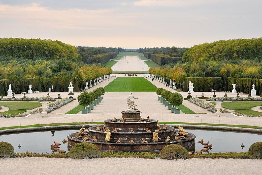 Connessioni Culturali: Giardino alla francese