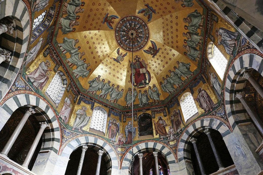 Connessioni Culturali: Cappella Palatina Aquisgrana