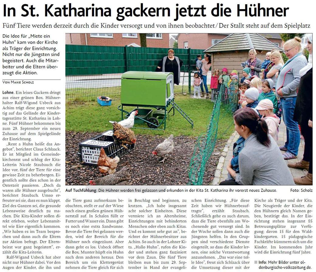 Oldenburgische Volkszeitung 20.09.2017