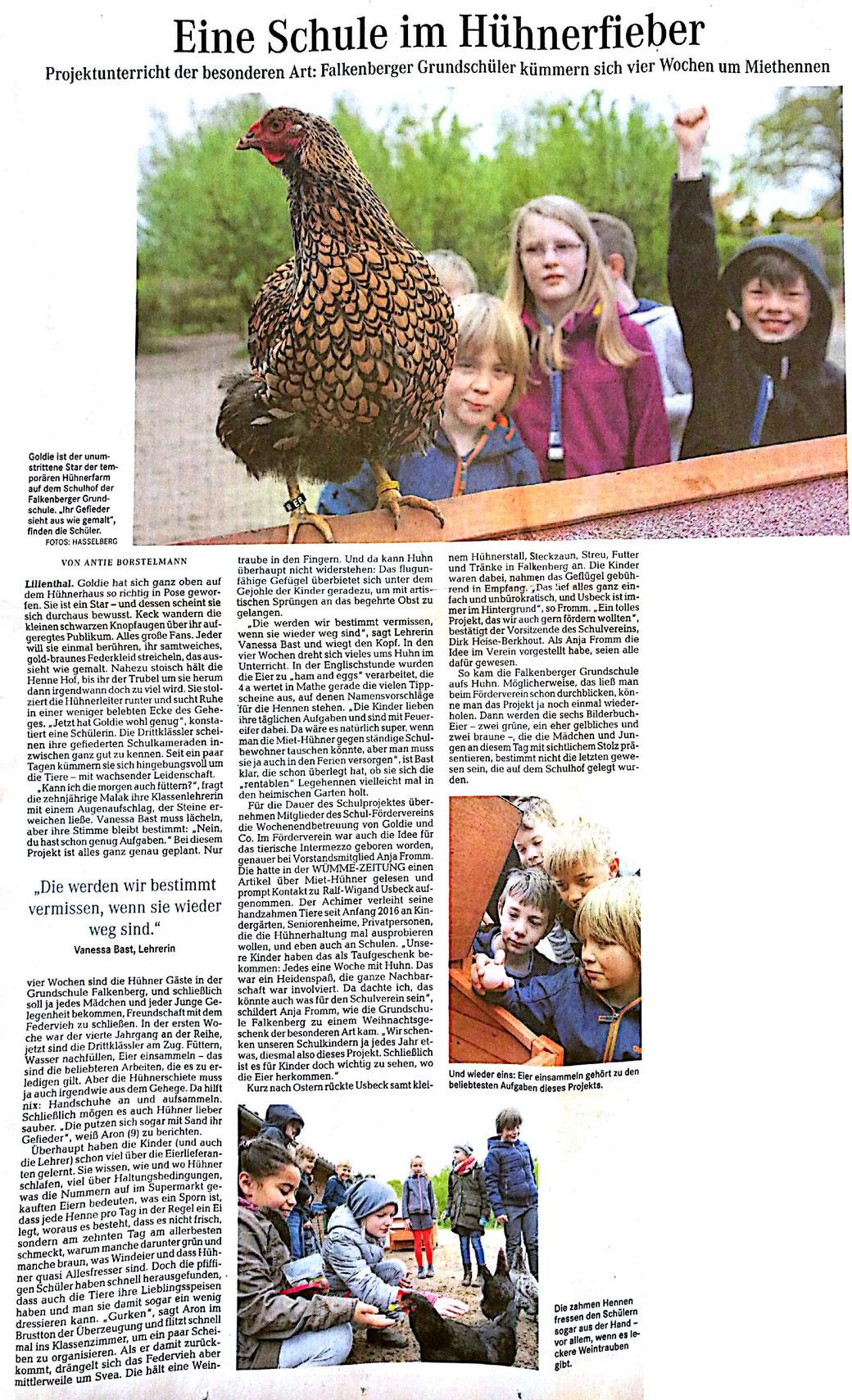 Wümme-Zeitung 6. Mai 2017