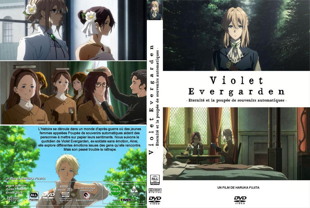 Violet Evergarden Eternité et la poupée de souvenirs automatiques