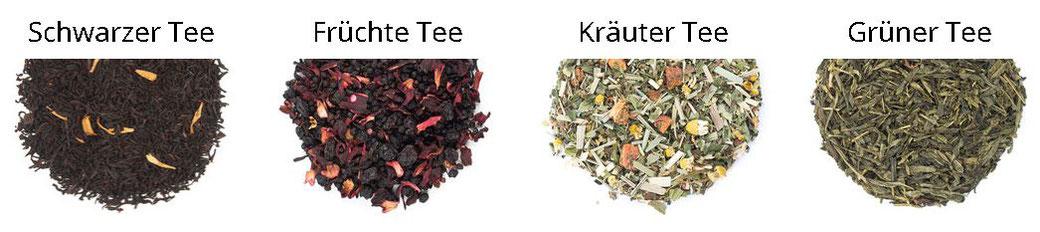 Teespezialitäten bequem online im Tee Shop kaufen