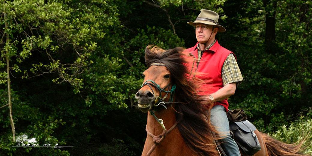 Fischerhof Wanderreiten, Wanderreiten im Naturparkt Nassau, Deutschland und Europa, Wanderreitpferde, Urlaub zu Pferd, Rittführer Michael Renz
