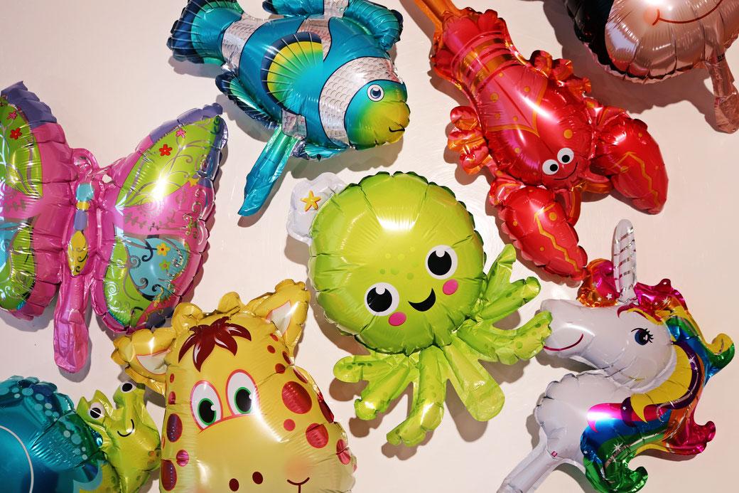 Entdecken Sie unsere tolle Auswahl an wunderschönen Helium- und Luftballons!