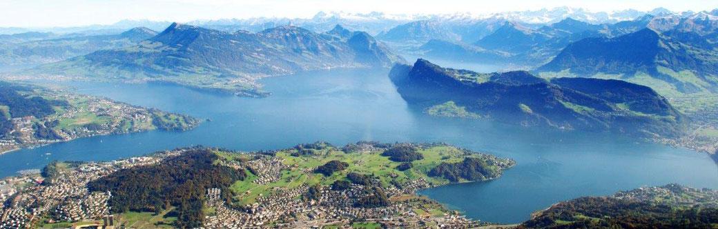 Flugzeug Rundflug Zentralschweiz