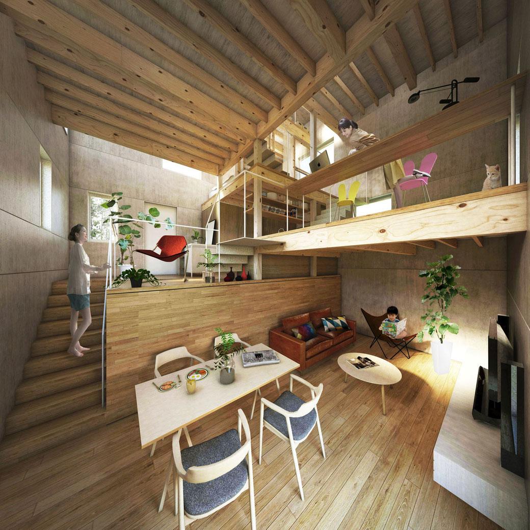 Unfolding House | Tokyo, Japan
