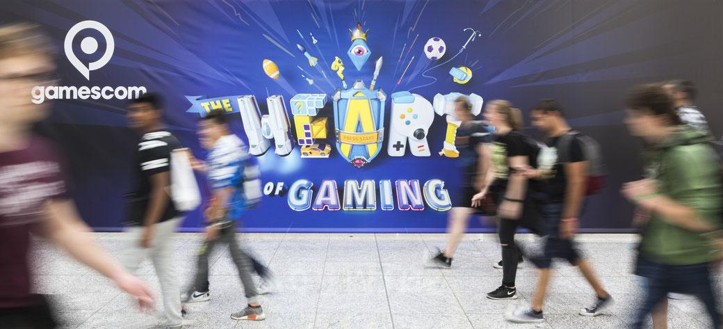 Koelnmesse Gamescom gamescom2019 Erfahrung Erlebnis Köln Spielemesse Gaming Gamingmesse