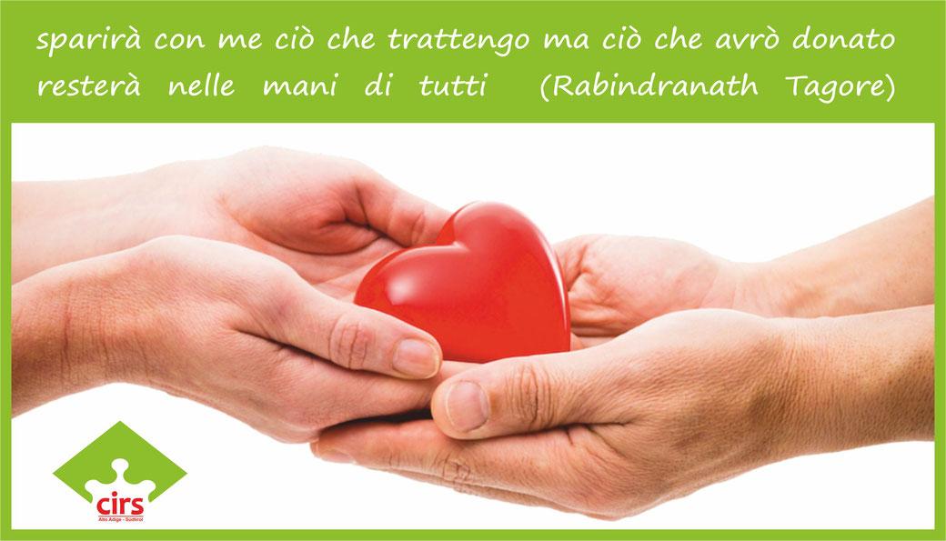 Cirs Onlus | Alto Adige Südtirol ente di volontariato a Bolzano donazioni