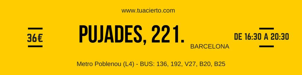 Dirección del Repaso de Eneacoaching en cartel amarillo