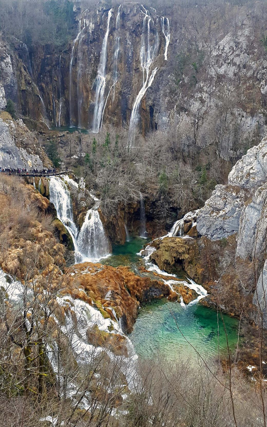 Plitvice (Plitwitzer Seen), Kroatien , 12/2018