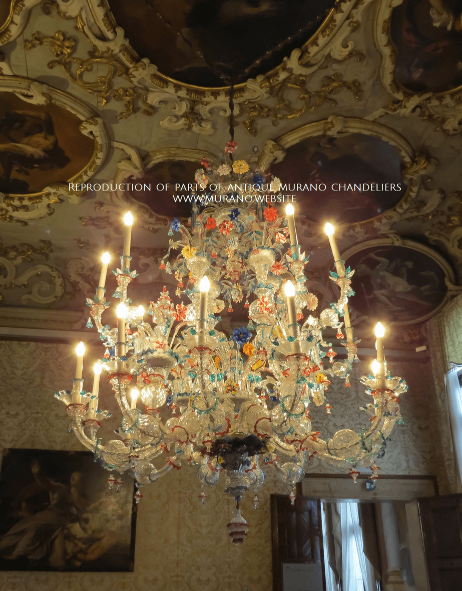 reproduction-parts-antique-murano-chandeliers