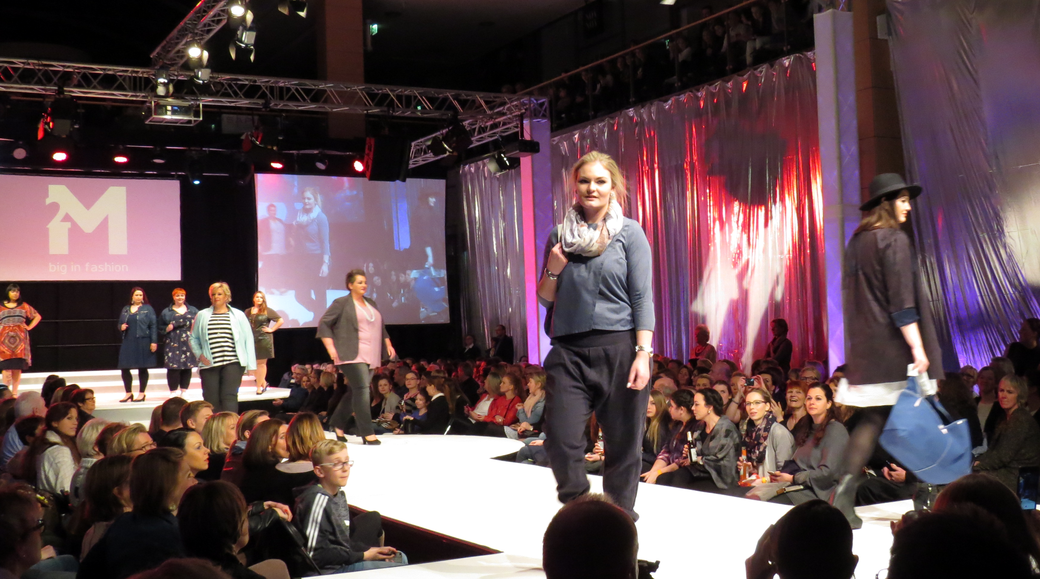 Plus Size Mode von 2M big in fashion, zu sehen auf der Fashion & Dance 2016