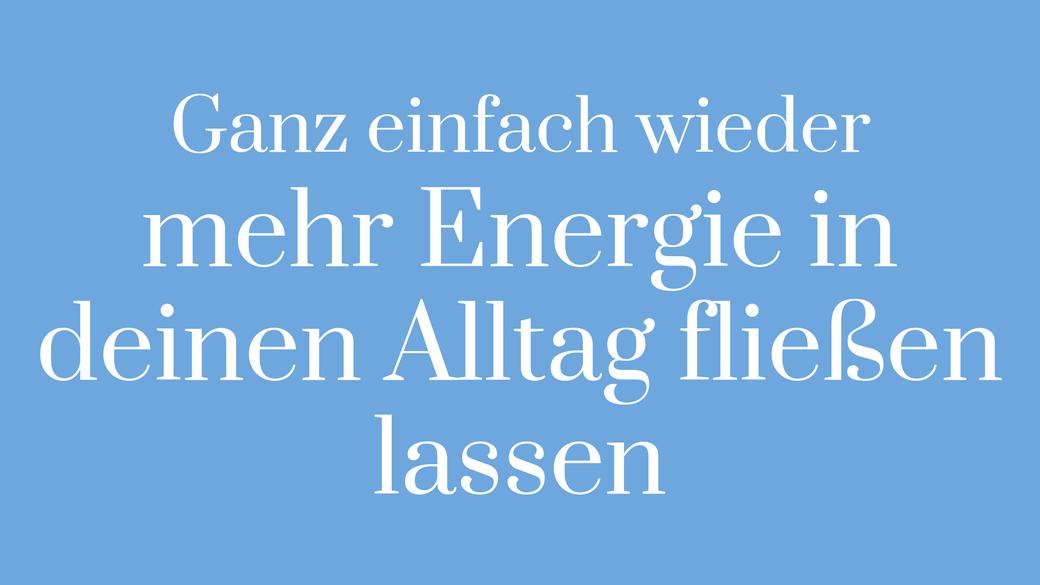 Energie Kraft Lebenskraft Vitalität Alltag keine Kraft Teufelskreis Energie tanken wiederaufladen Körper Kreislauf Bewegung Atmung Turtle Steps