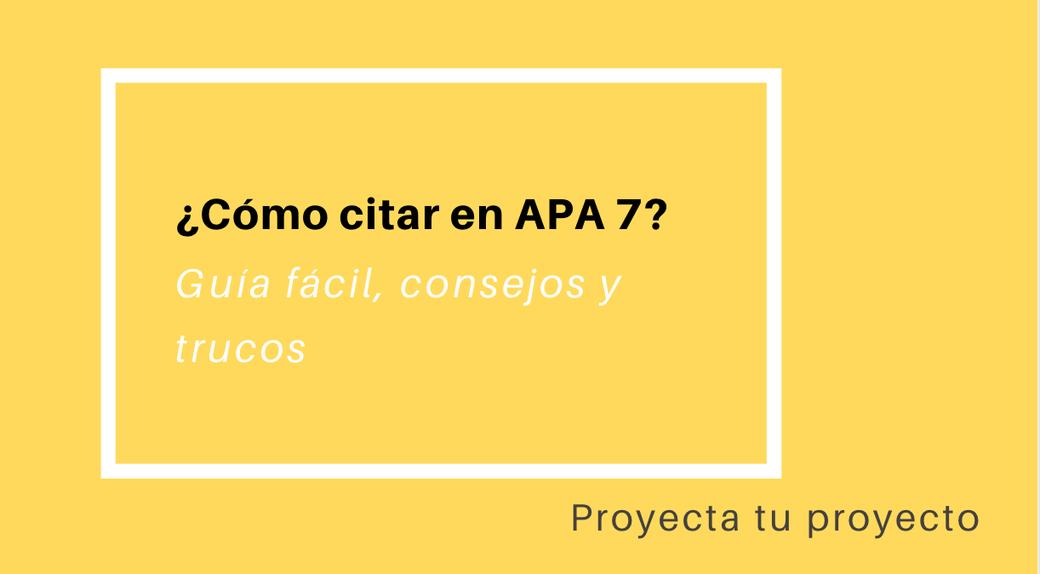 Apa 7, normas Apa, cómo citar, aprender a citar, tres autores normas APA 7
