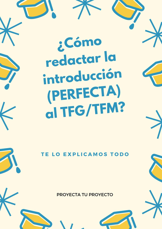 introducción tfg introducción tfm redactar introducción tfg