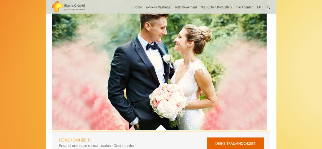 Suche Hochzeitspaare die sich bei Ihrem schönsten Tag des Lebens mit der Kamera begleiten lassen.