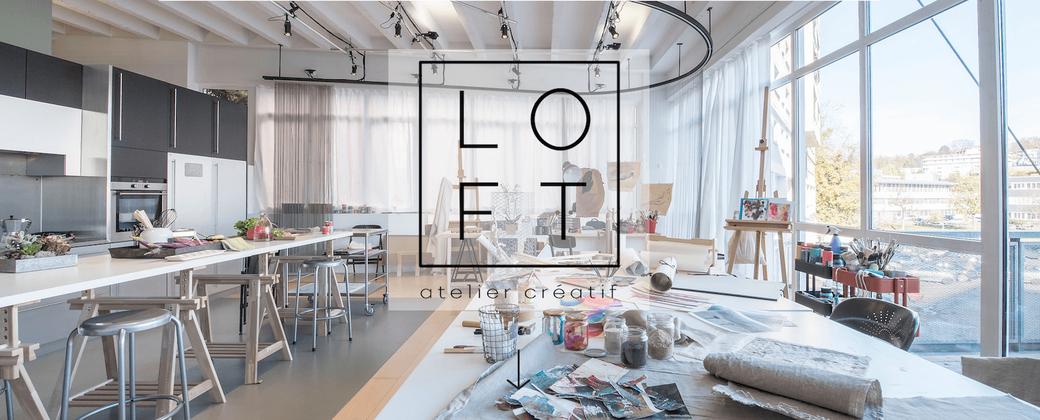 Le LOFT, atelier créatif avec une grande salle à louer pour vos événements, cours, stages, ateliers, conférences (avec espace coworking)
