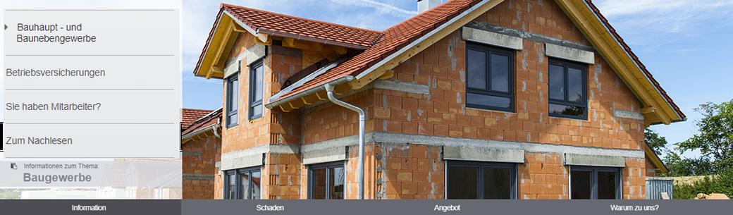 Gerade im Baugewerbe gibt es Haftungsrisiken, die Sie zum Schutze Ihres Unternehmens entsprechend absichern.