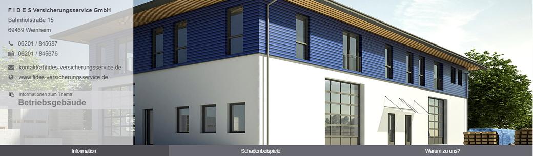 Wichtig für Betriebe, deren Betriebsgebäude Eigentum der Firma sind oder für Eigentümer vermieteter Betriebsgebäude.