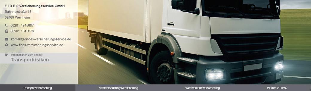 Beispiel Transportversicherung: Die Haftung der befördernden Verkehrsträger ist meist zu gering, um den verursachten Schaden angemessen zu ersetzen. Schutz vor dem finanziellen Risiko bietet hier nur eine Transportversicherung.
