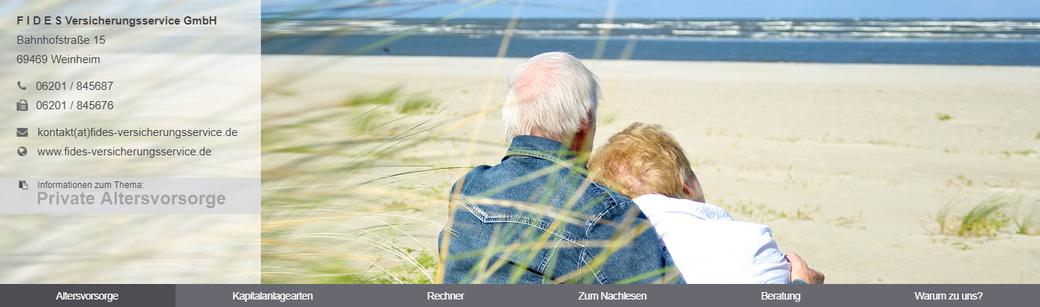 Überblick zur Altersvorsorge, den Kapitalanlagearten, sowie weiteren Informationen inklusive Altersrentenbedarfsrechner.