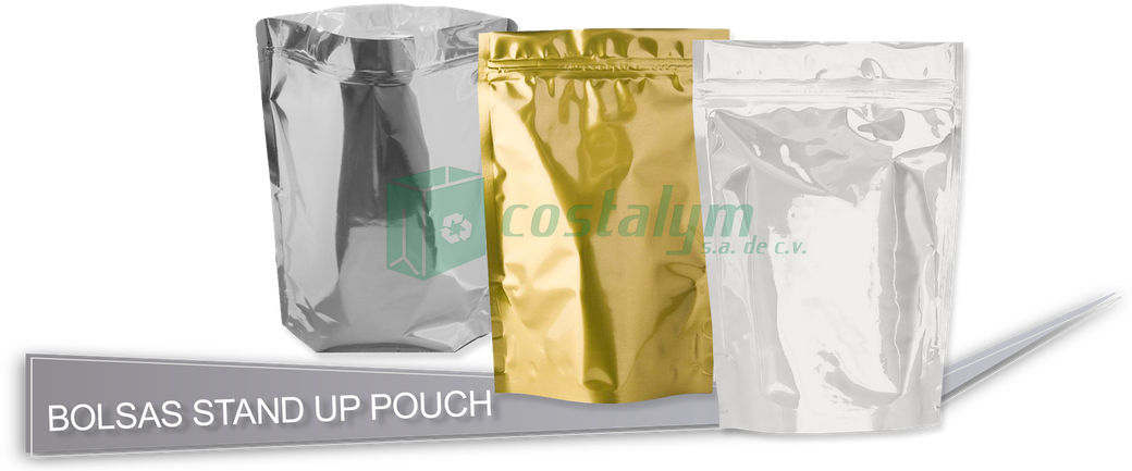 Bolsas Stand Up Pouch