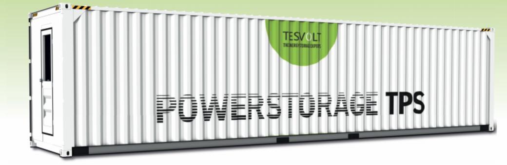 Container für Batteriesysteme für industriebetriebliche Speicherlösungen