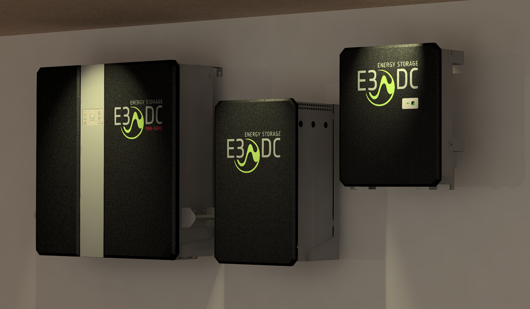E3-DC Pro Hauskraftwerk und Erweiterungen