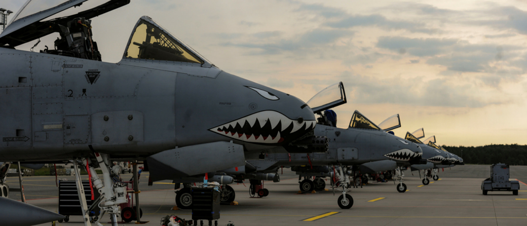 A-10C Thunderbolt II - 74Th Fighter Squadron. (Foto: USAF)