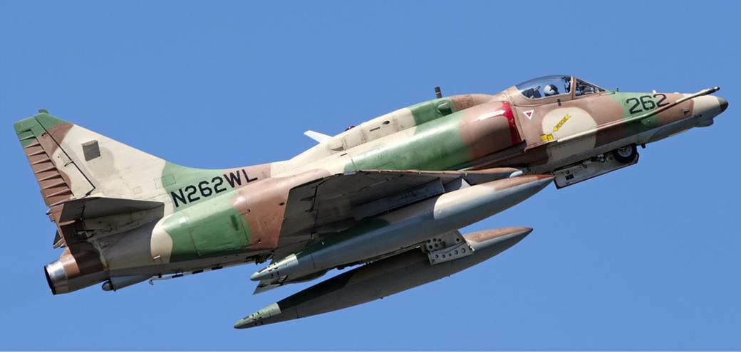"McDonnell Douglas A-4N Skyhawk (A-4 ""Ayit"") Heyl Ha'Avir / (Foto: Jan Kalina)"