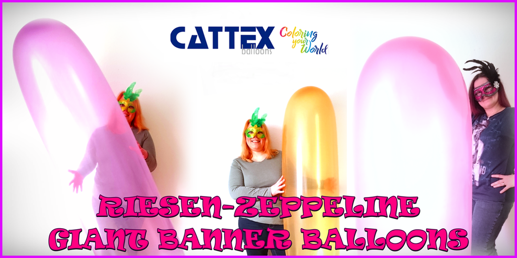 Riesenzeppeline - Giant banner balloons RIFCO BWS