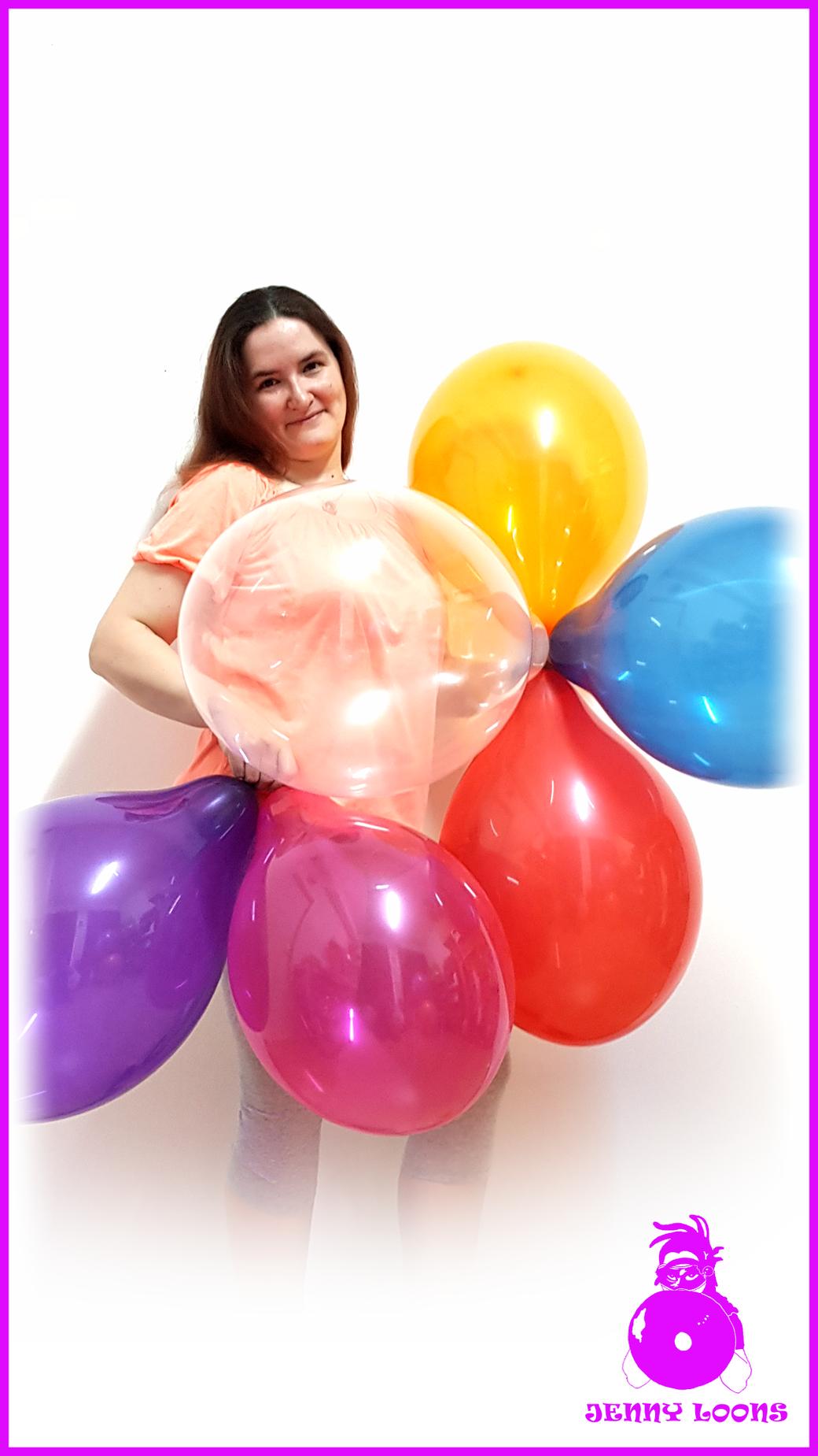 Belbal Balloons Luftballons Ballons Globos Palloncini B120 Crystal 100er Pack Looner